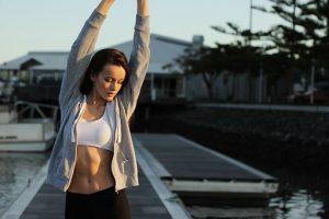 Bulimia, chica haciendo ejercicio, buen alternativa